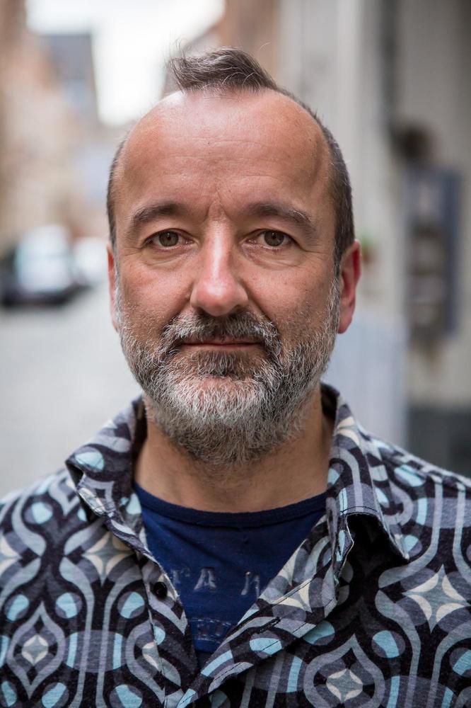 """""""Of er voldoende draagvlak is voor echte basisdemocratie? Ik denk het wel, op Facebook zie je dat er veel interesse voor is"""", zegt Christophe Steyaert., Davy Coghe"""