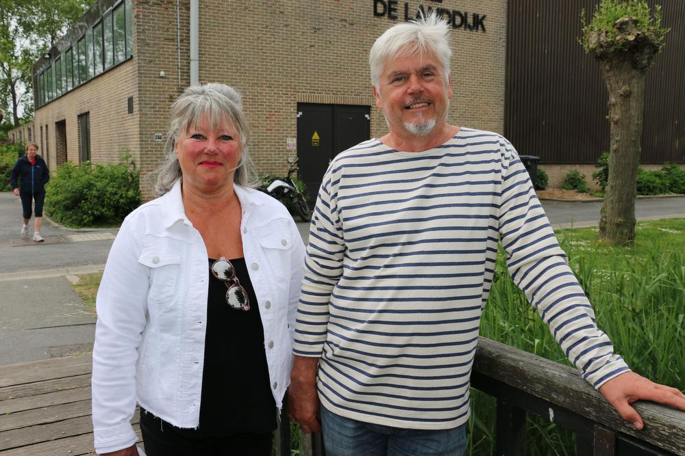 Myriam Meersman en Patrik Reubens van Zeebrugge Onder Druk. (foto TVH), TVH