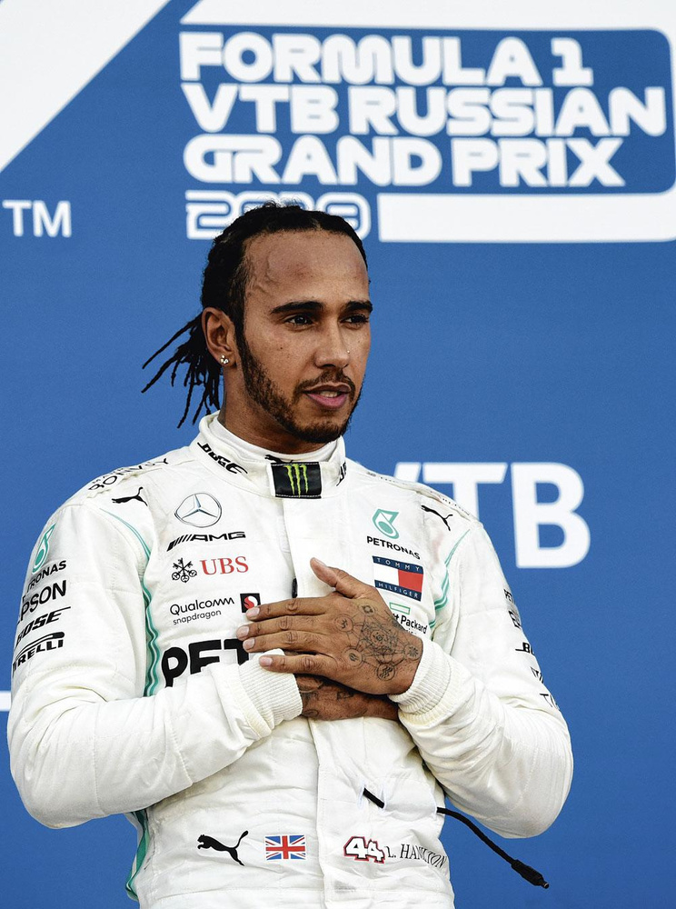 Lewis Hamilton, AFP