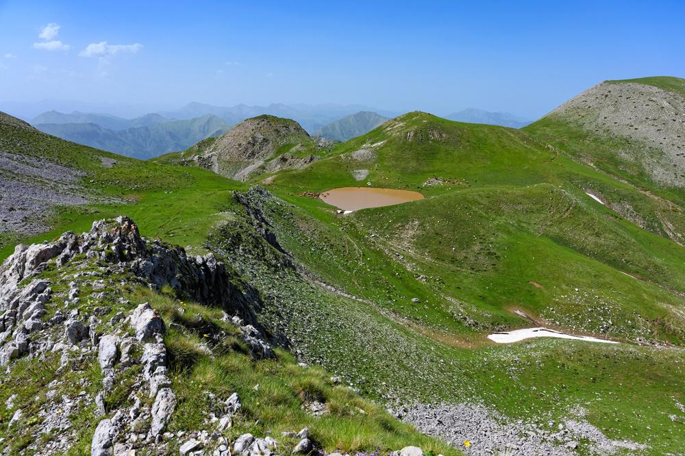 Les montagnes d'Agrafa, Getty