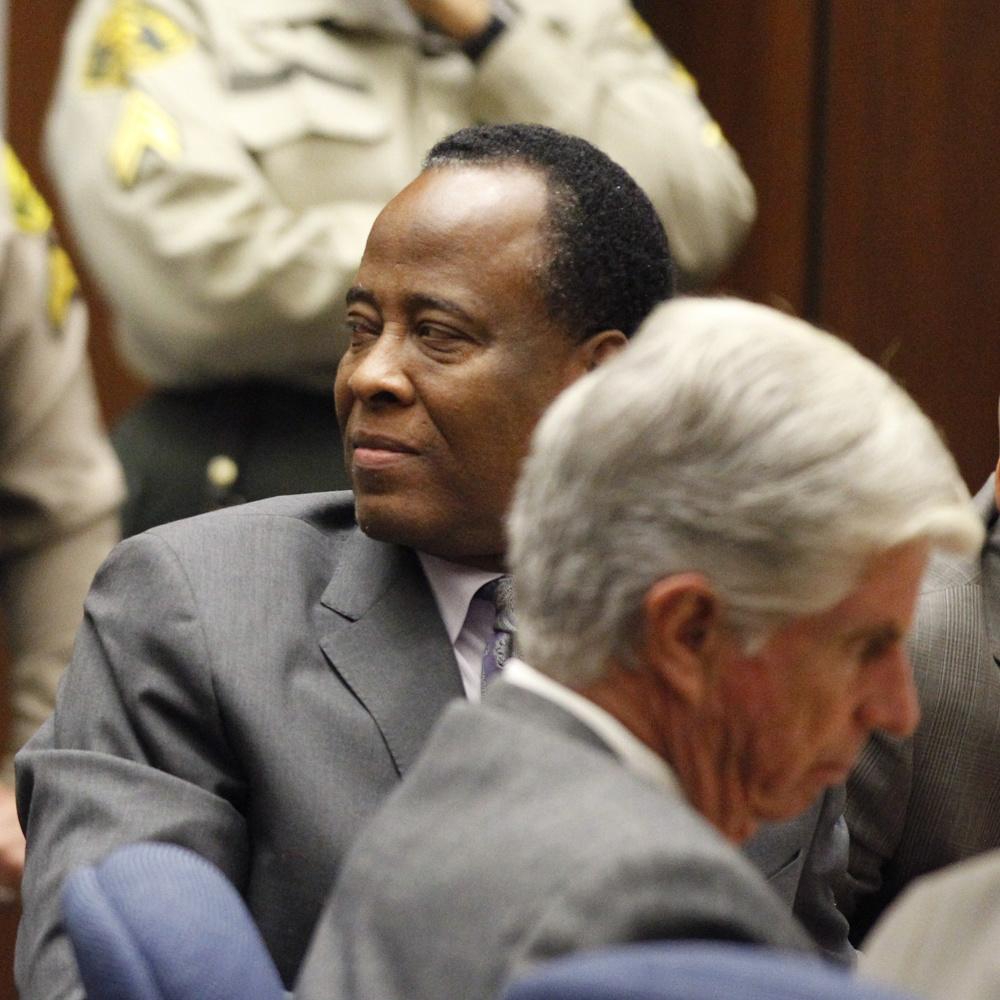 Le Dr Murray devant le juge, en 2012, Getty Images