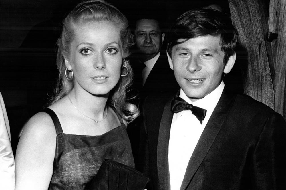 Deneuve et Polanski au moment de la sortie de Répulsion, Getty Images