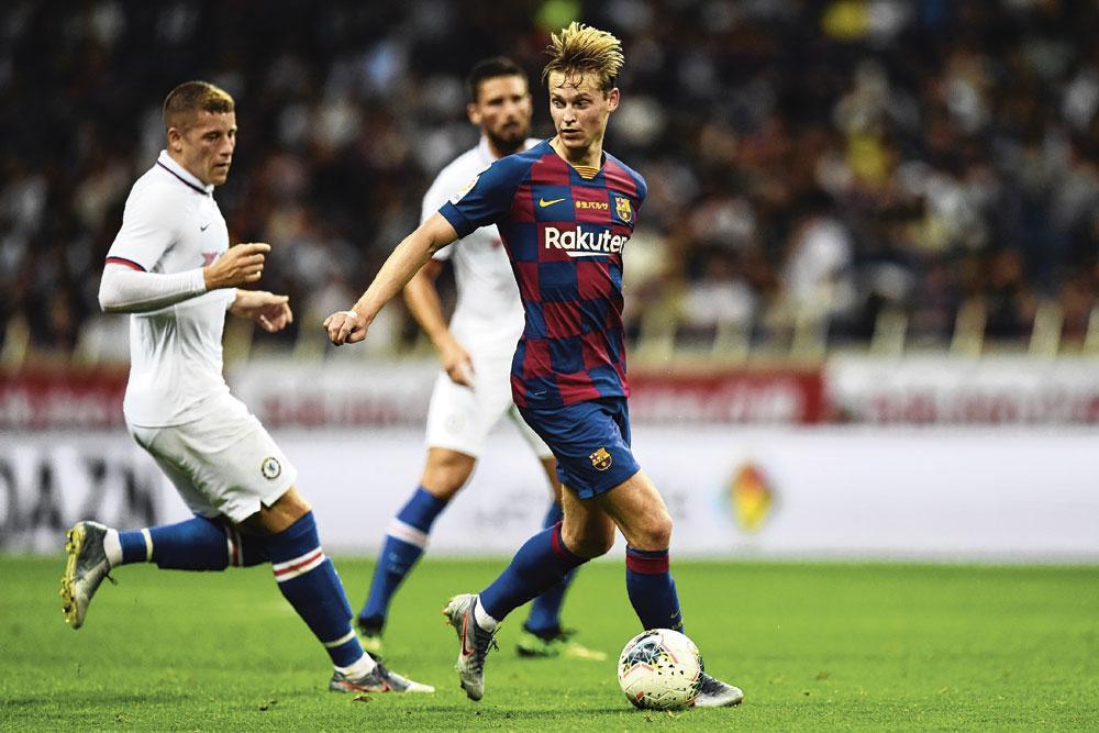 """Frenkie de Jong : """" Le Barça est le club dont je rêvais. """", belgaimage"""