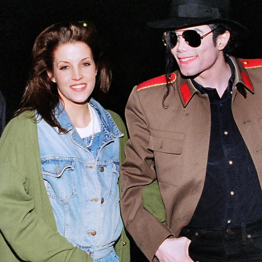 Lisa Mary Prestley, la fille du King, en 1995, Getty Images