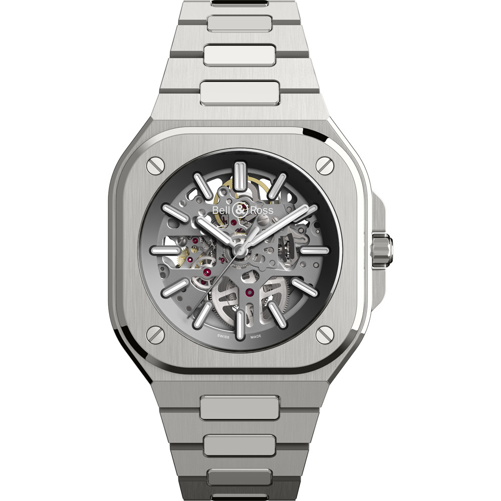 Onze favoriet is dit horloge met zichtbaar radarwerk, Bell&Ross