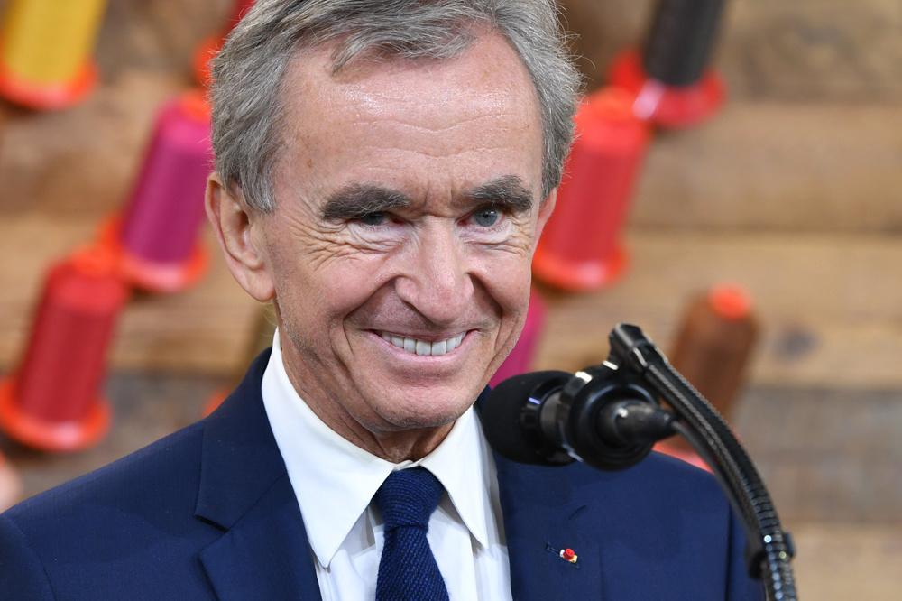 Bernard Arnault, un patron heureux, AFP