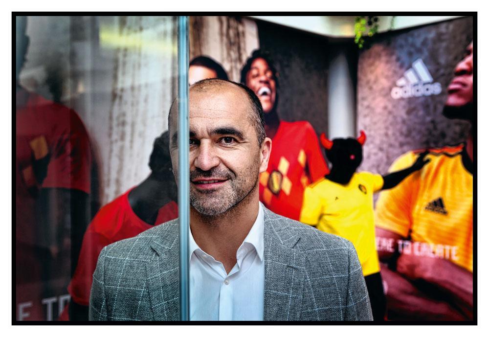 """Roberto Martinez : """" Il arrive de coacher une équipe où l'on se dit : c'est maintenant ou jamais. Ici ce n'est pas le cas, car on assiste à une forme de transmission de témoin. """", filip naudts"""