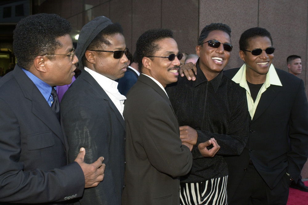 Jackie, Tito, Marlon, Jermaine et Randy en 2007, Getty Images