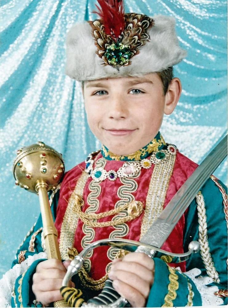 Roeslan op 7-jarige leeftijd: toen de prins van Zjytomyr, nu de koning van Genk., christian vandenabeele