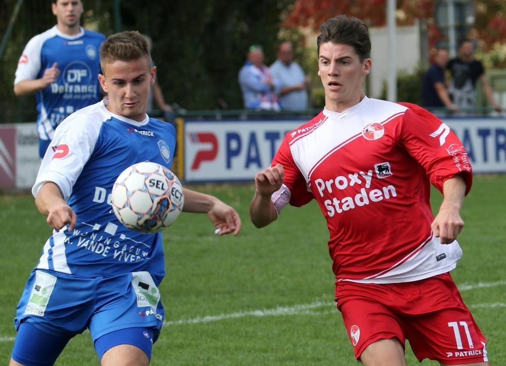 Buren E. Hooglede en SK Staden plaatsten zich voor de eindronde in derde provinciale A., VDB