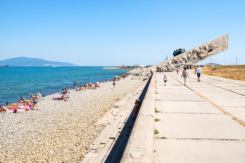 Plage de la Mer Noire, Novorossiysk, Getty Images