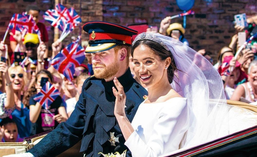 Le mariage de Harry et Meghan, une séquence faste pour les Windsor., BELGAIMAGE