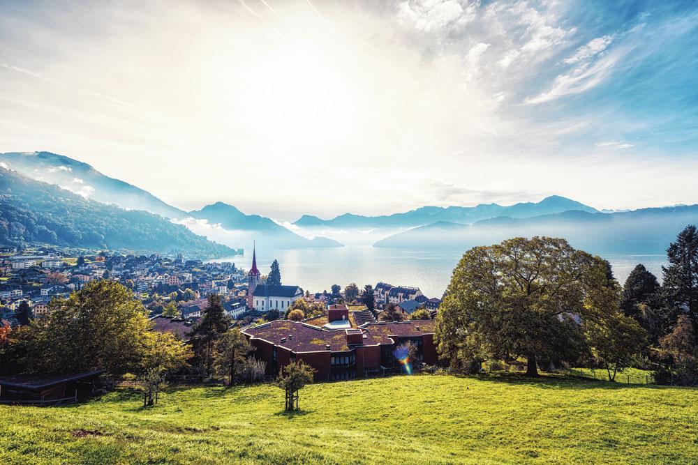 """ZWITSERLAND """"In Zwitserland is er in de fiscaliteit een heel grote stabiliteit."""", Getty Images"""