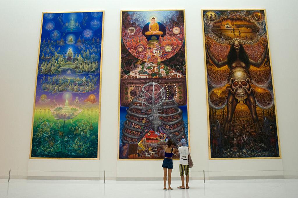 Le MOCA, le Musée d'Art contemporain de Bangkok, Getty