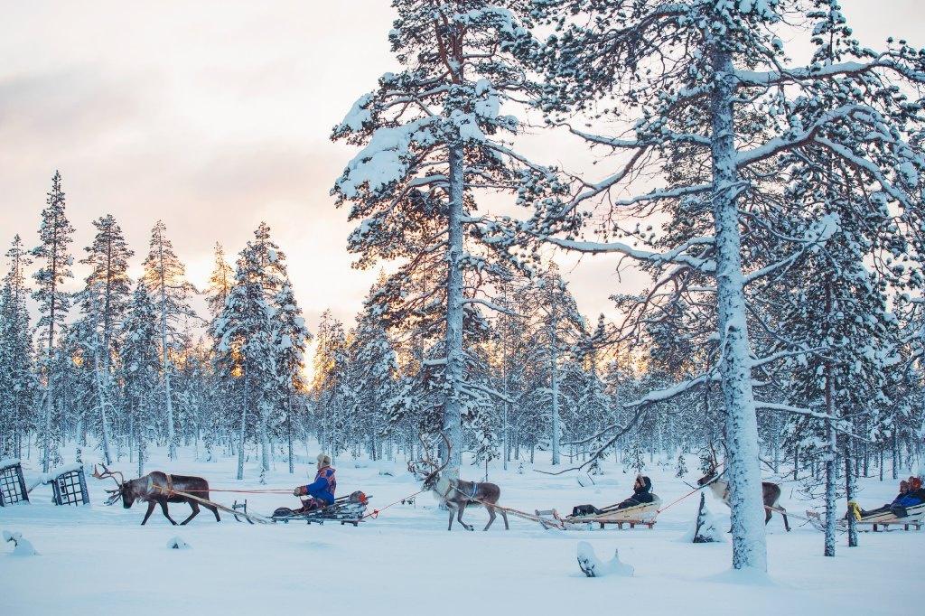 Kakslauttanen Arctic Resort, Kakslauttanen Arctic Resort, Lapland, Finland