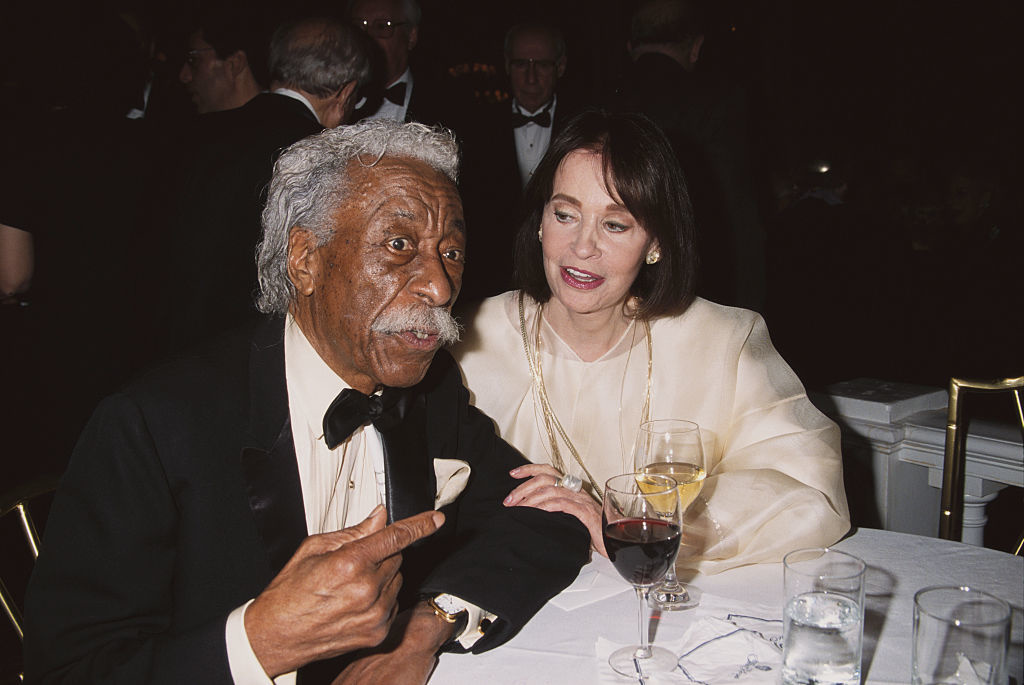 Gordon Parks en Gloria Vanderbilt (2001), Getty