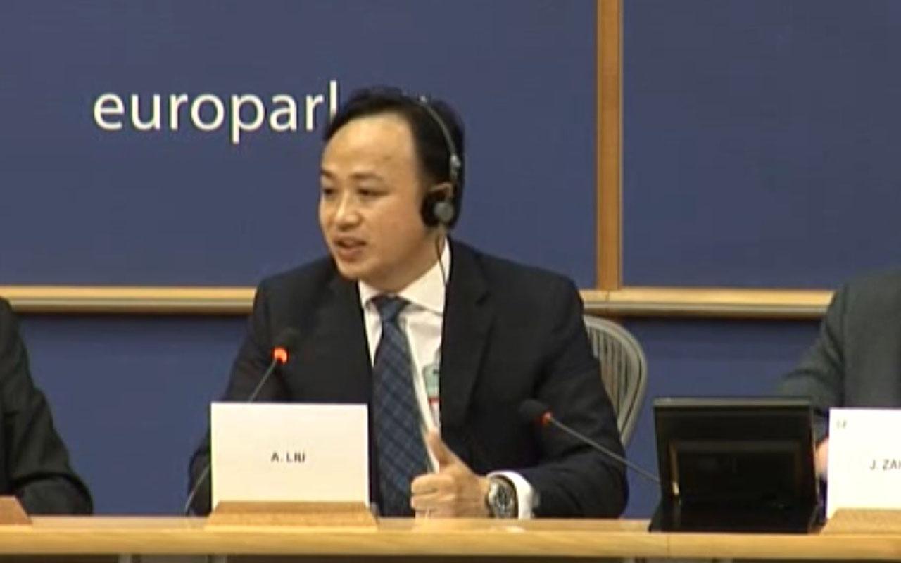 Abraham Liu - hoofdvertegenwoordiger van Huawei in Europa, .
