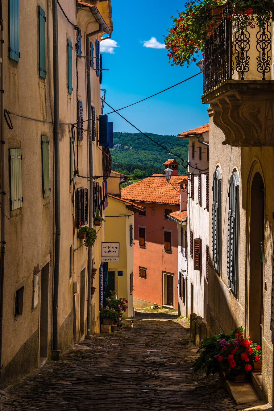 Ruelle de Motovun, Getty Images