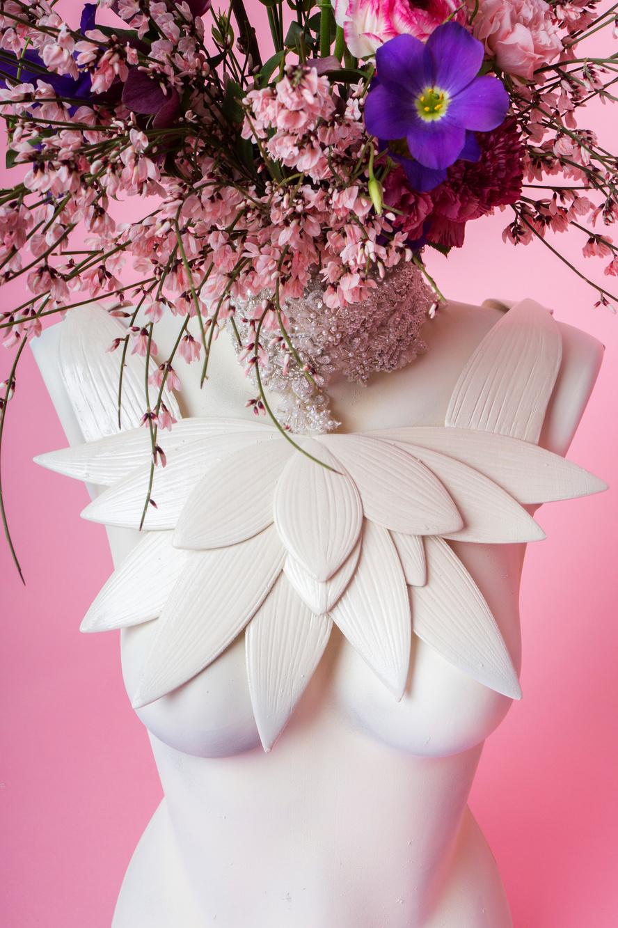 De collectie van Anaé Studio bestaat uit handgemaakte juwelen., Pauline Miko