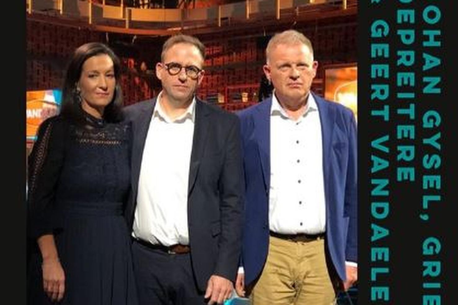 Griet Depreitere, Johan Gysel en Geert Vandaele., Instagram Vandaag