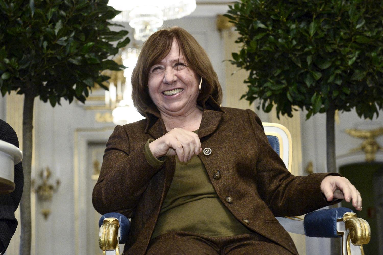 Svetlana Alexievitch, REUTERS