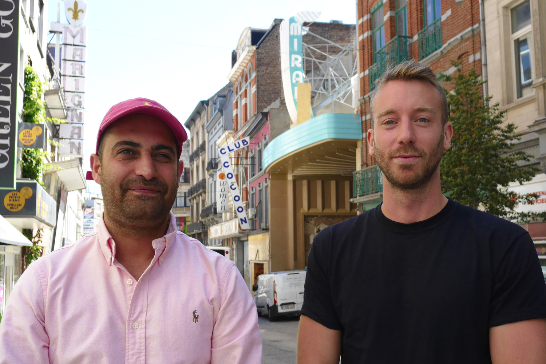 Behrad Hatefi et Tanguy Dimanche, BELGA PHOTO OPHELIE DELAROUZEE