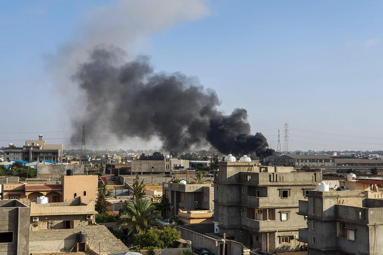 Tajoura, au sud de Tripoli, BELGA IMAGE