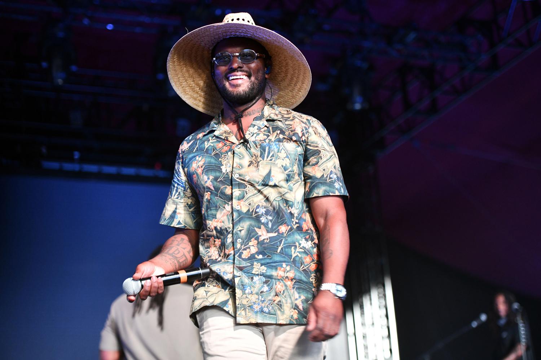 ScHoolboy Q, ici à Coachella le 13 avril dernier., Getty Images