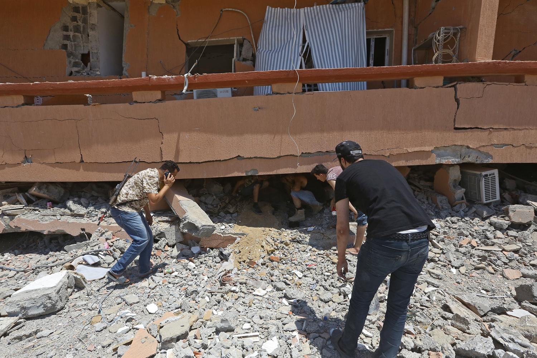 Complexe militaire de Yarmouk, BELGA IMAGE
