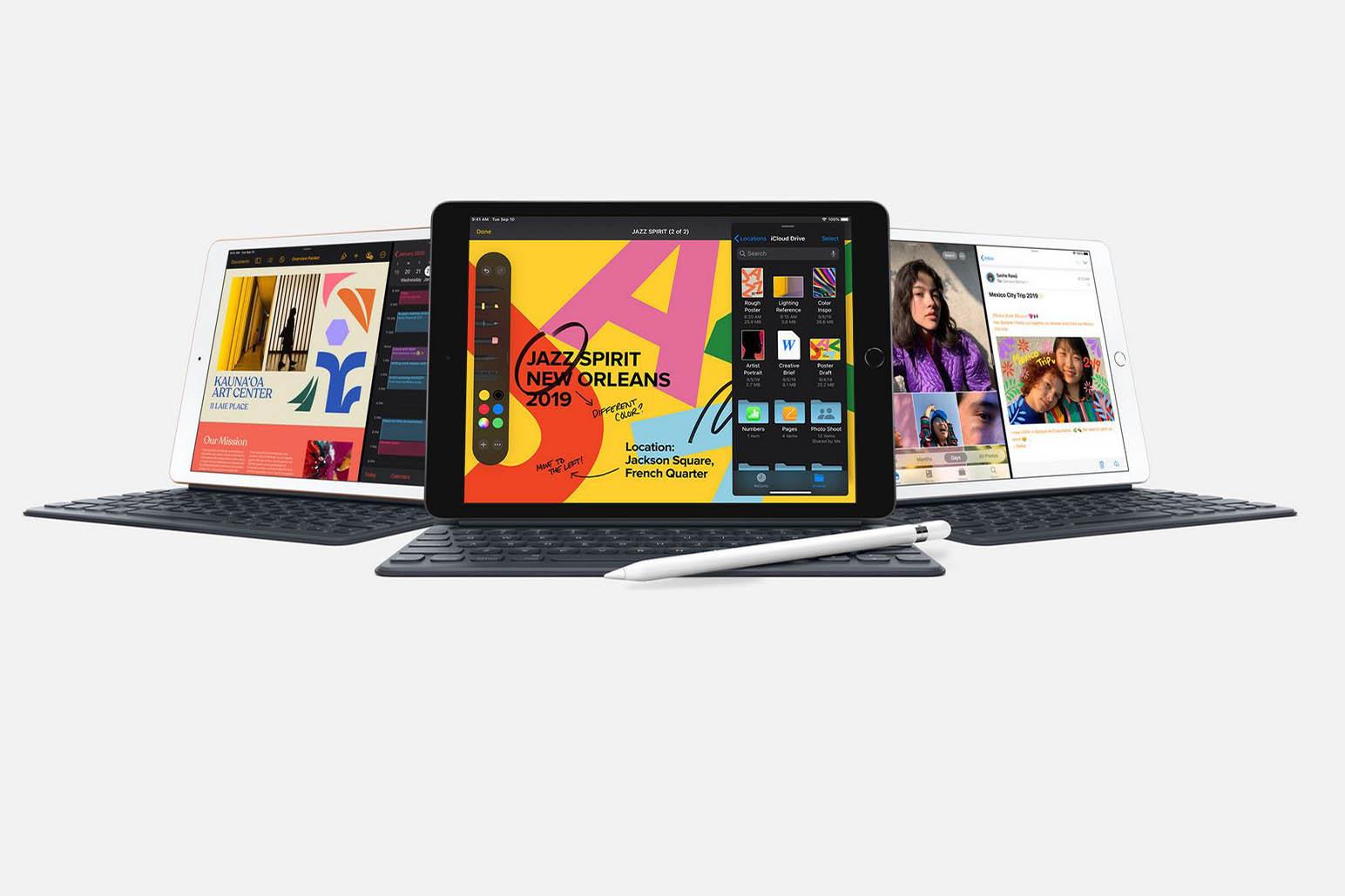 De nieuwe iPad komt optioneel met een toetsenbord., Apple