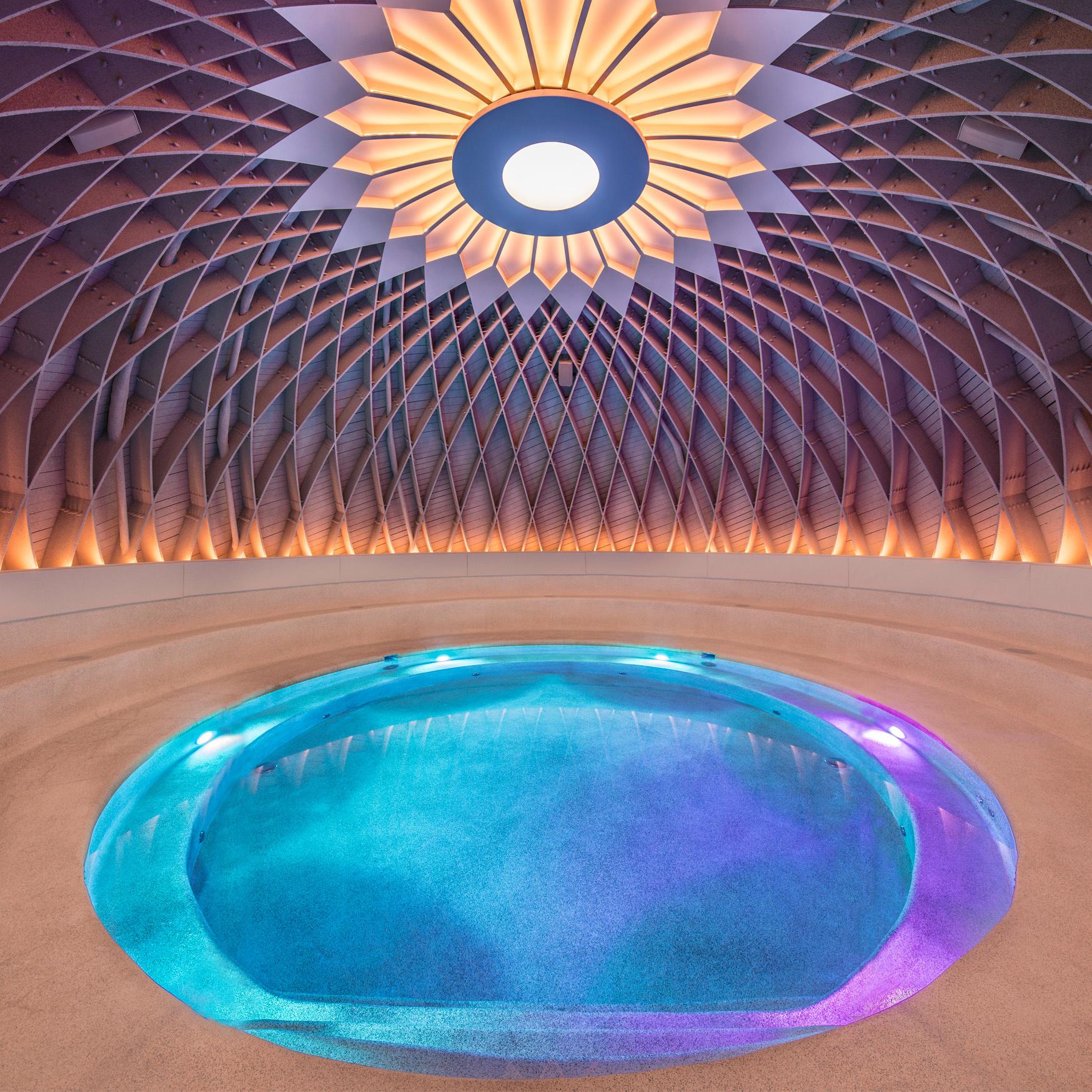 Het bad van Dôme, Dôme