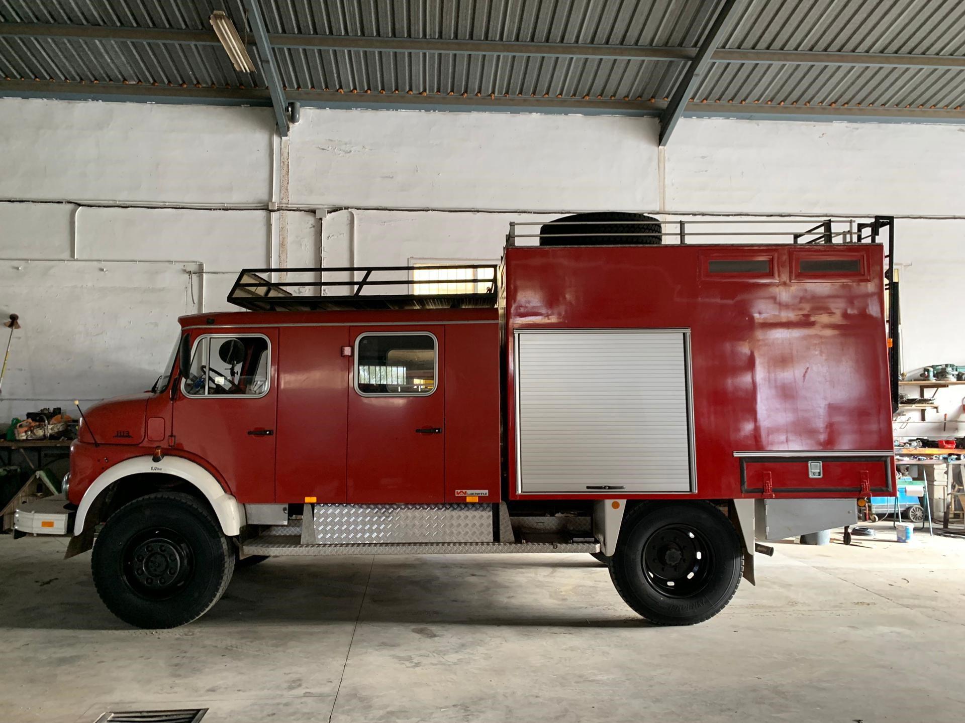 Tatyana's brandweerwagen, Tatyana Beloy