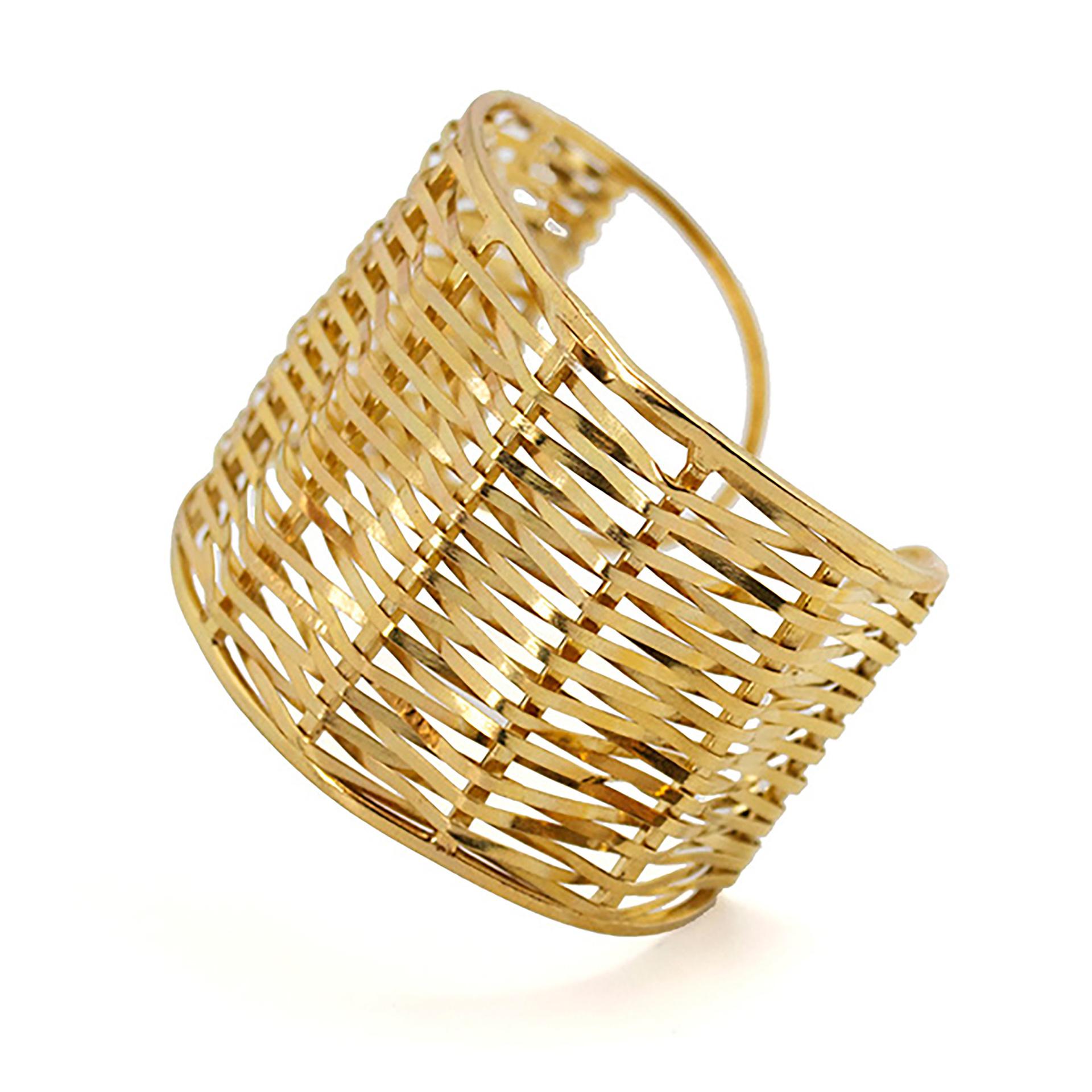 Bracelet Topkapi en laiton doré, CB