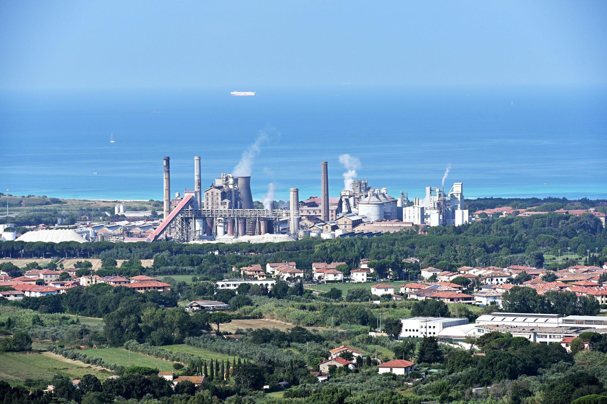 Usine Solvay en Toscane, AFP