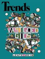 De vastgoedgids lente 2019 verscheen op donderdag 18 april als extra bijlage bij Trends., .
