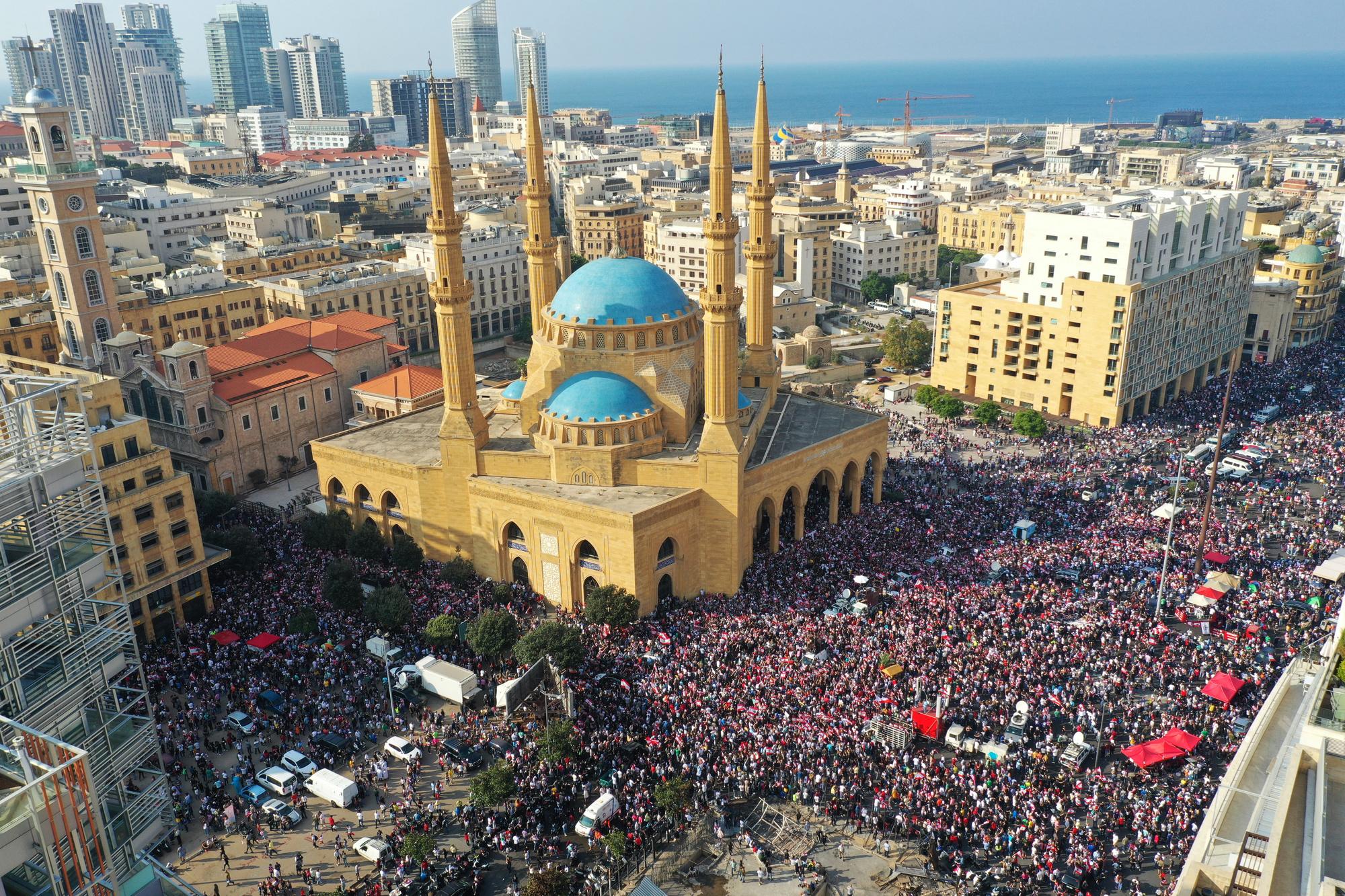 Dans les rues de Beyrouth, BELGA IMAGE