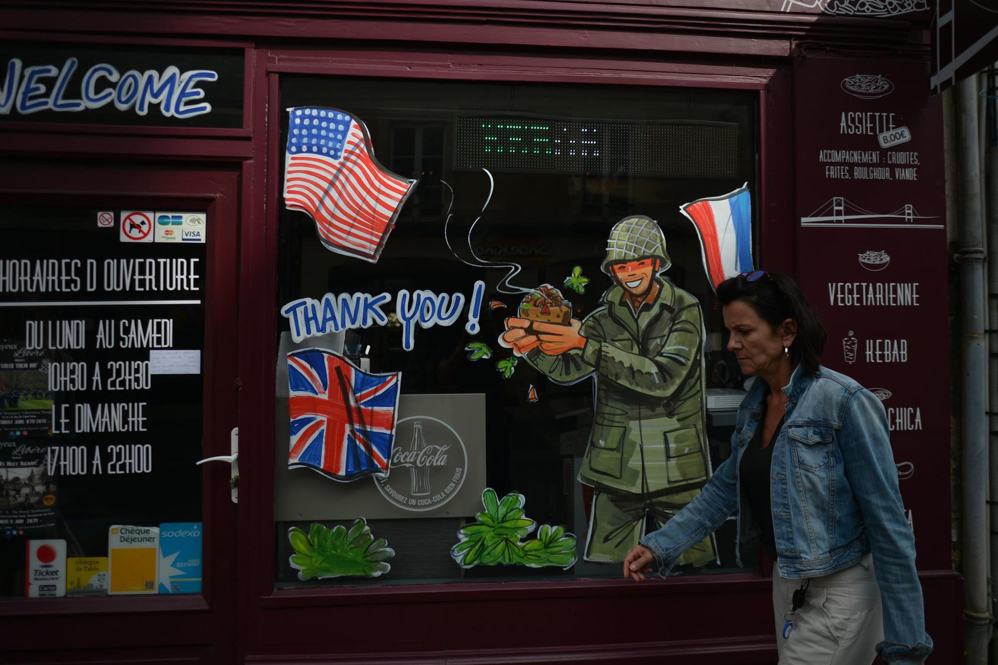 A Bayeux, les restaurants aussi jouent la carte du D-Day et de la gratitude , Getty Images