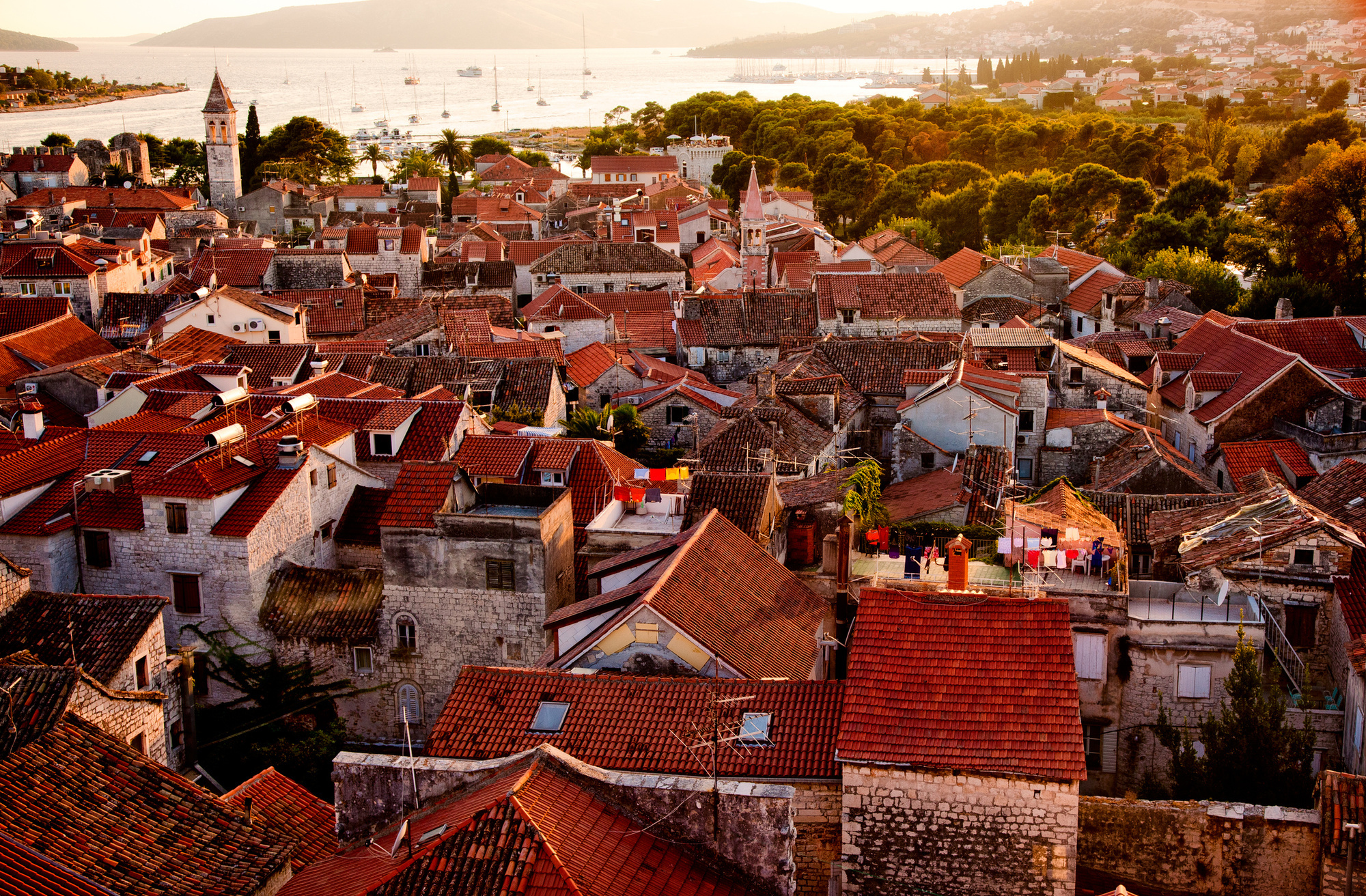 Trogir vu du ciel, Getty Images