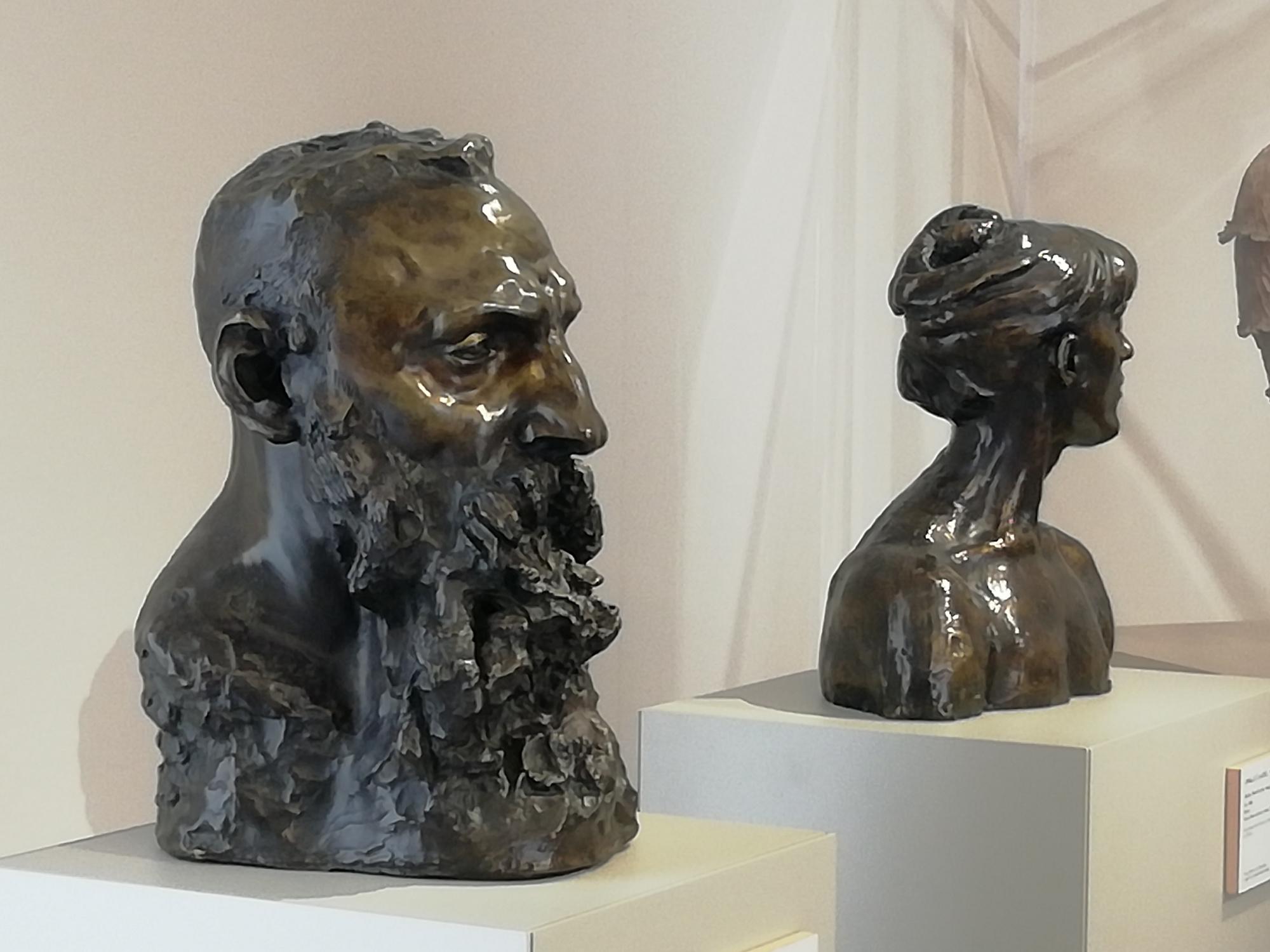 Portret van Auguste Rodin door Camille Claudel., musée Camille Claudel/photo Marco Illuminati