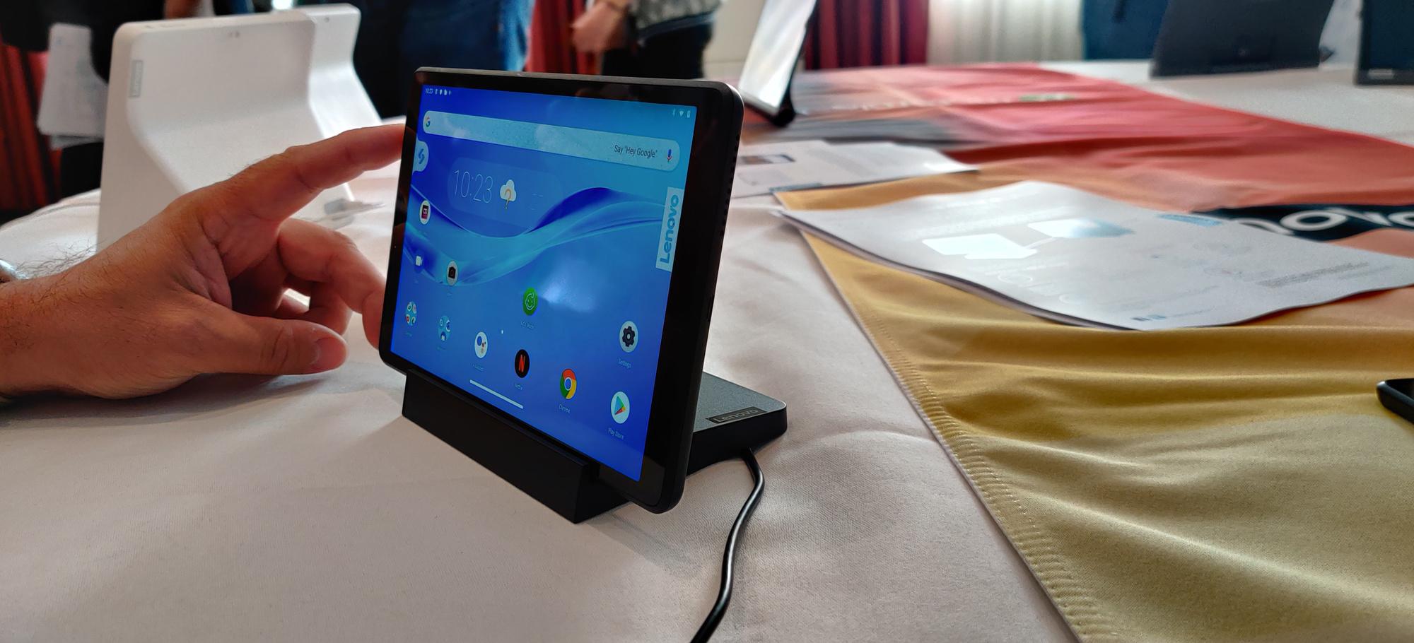 Lenovo Smart Tab M8, PVL