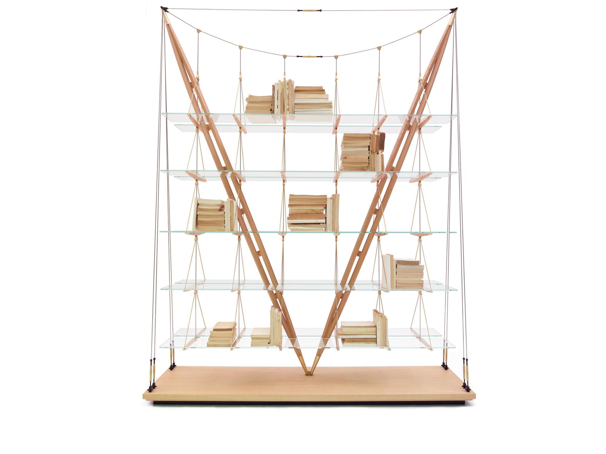 Franco Albini, bibliothèque Veliero, 1940-2011, Cassina, Le mobilier d'architectes, 1960-2020, © Cité de l'architecture, Denys Vinson photographe 2019