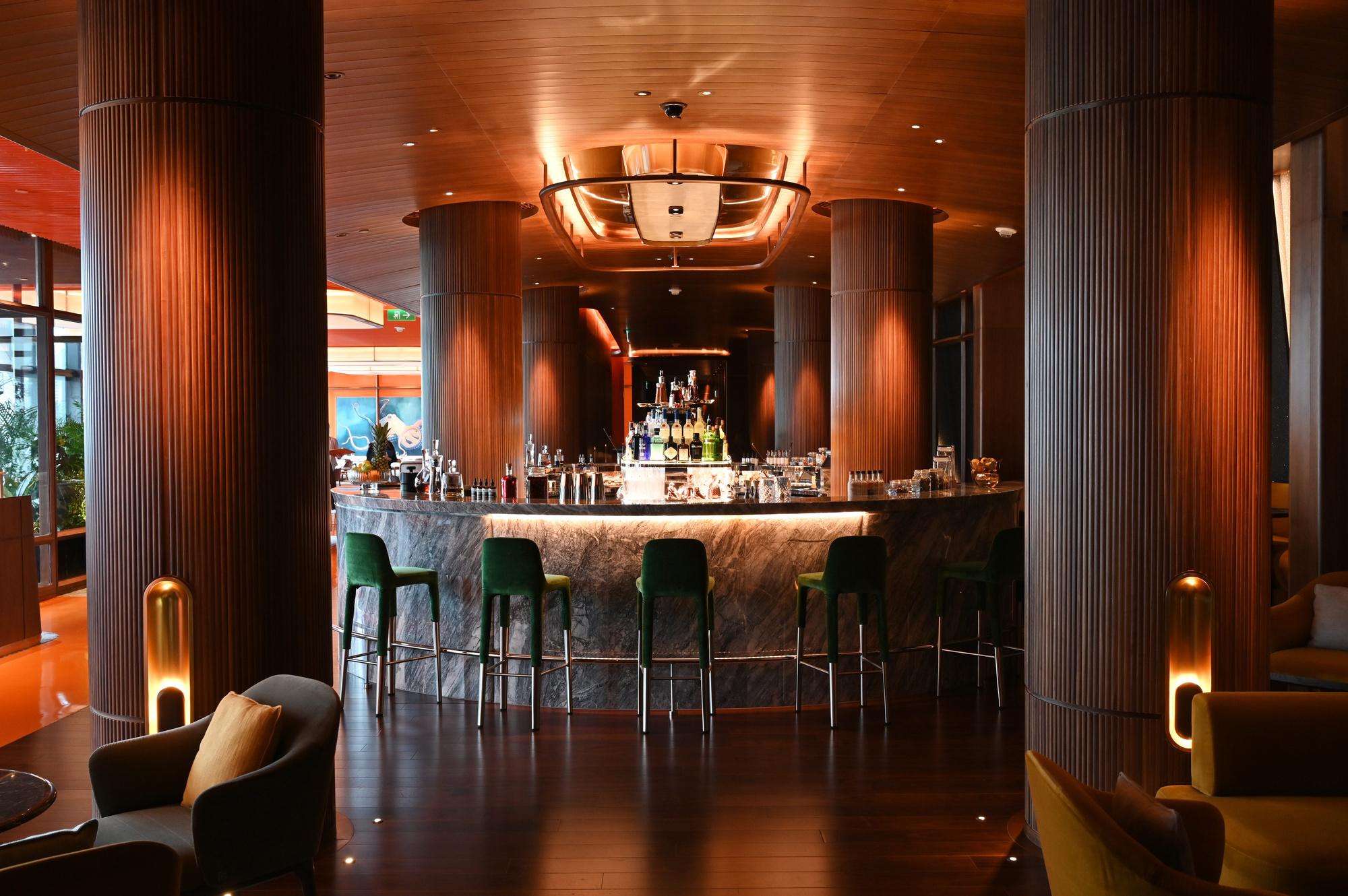 Restaurant d'Alain Ducasse au sein du Mopheus Hotel, à Macao, AFP