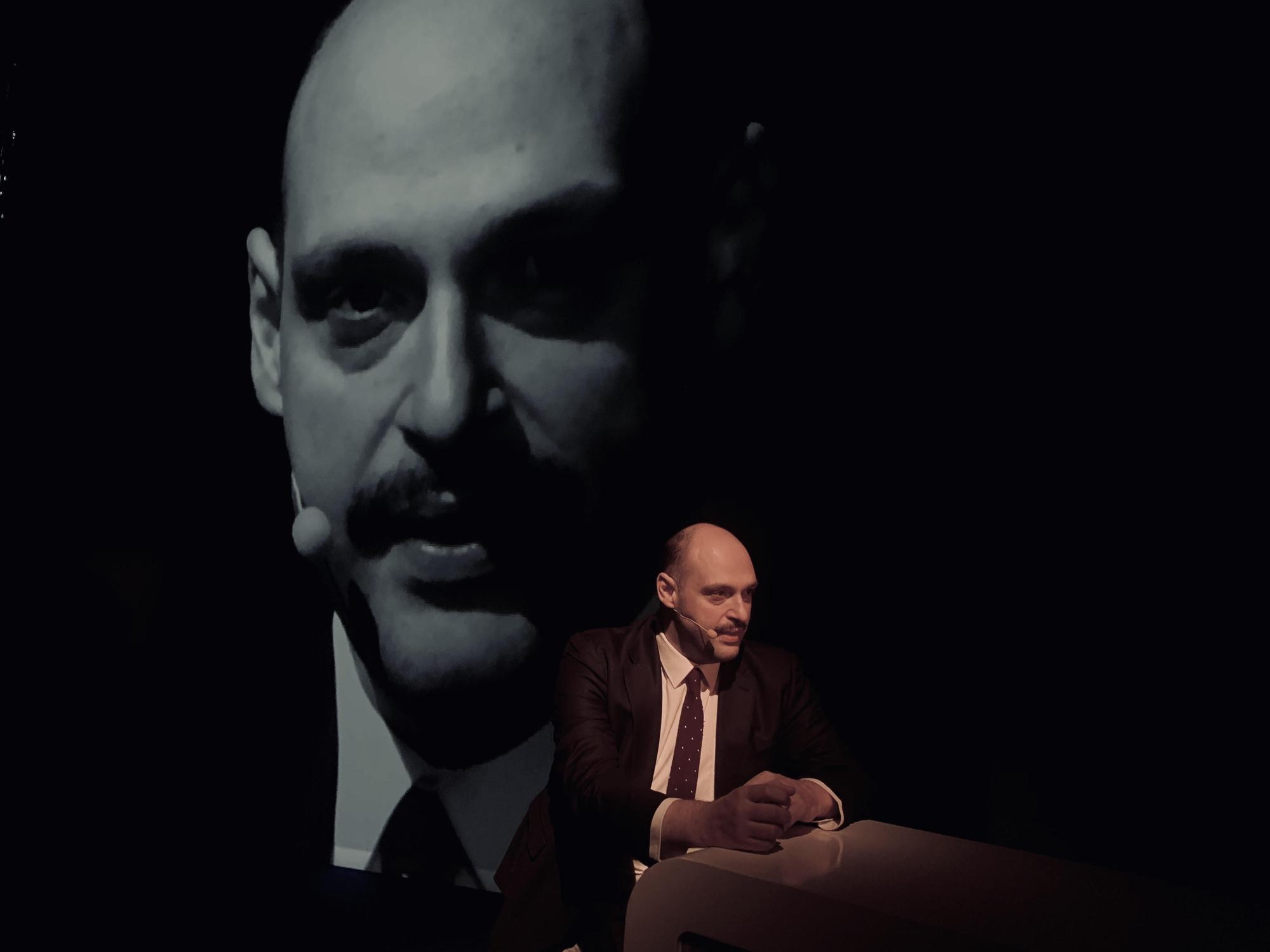 Achille Ridolfi, Giacinto Caponio