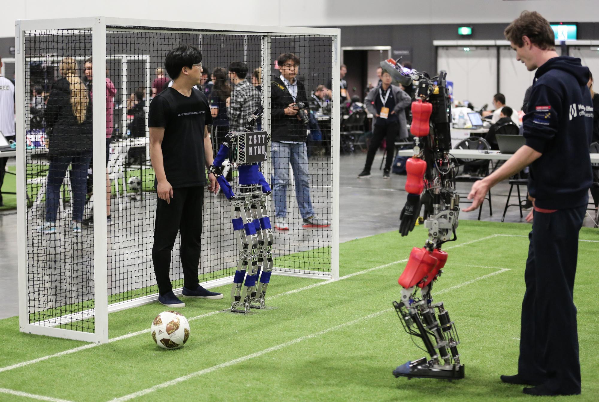Humanoïde voetbalrobots op de RoboCup 2019, Belga