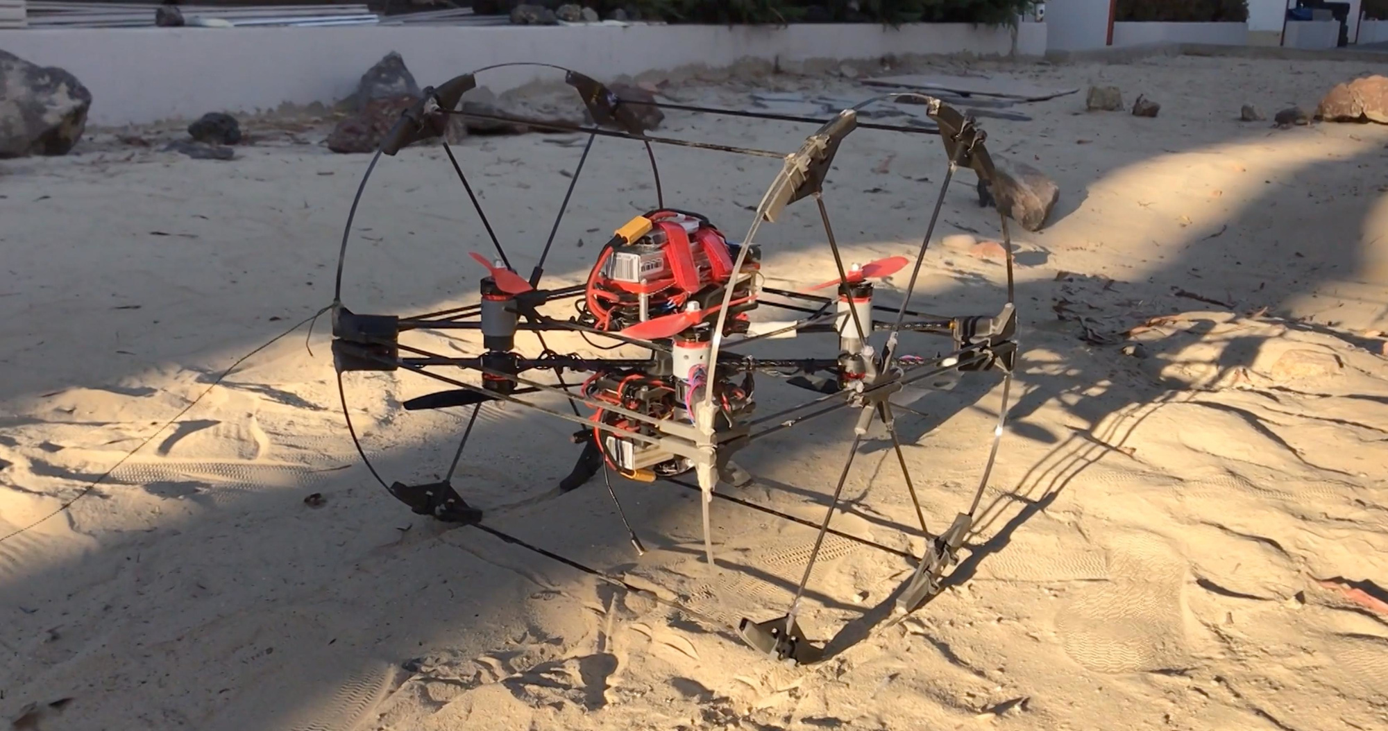 Le prototype du Shapeshifter ressemble à un drone intégré à une roue., NASA