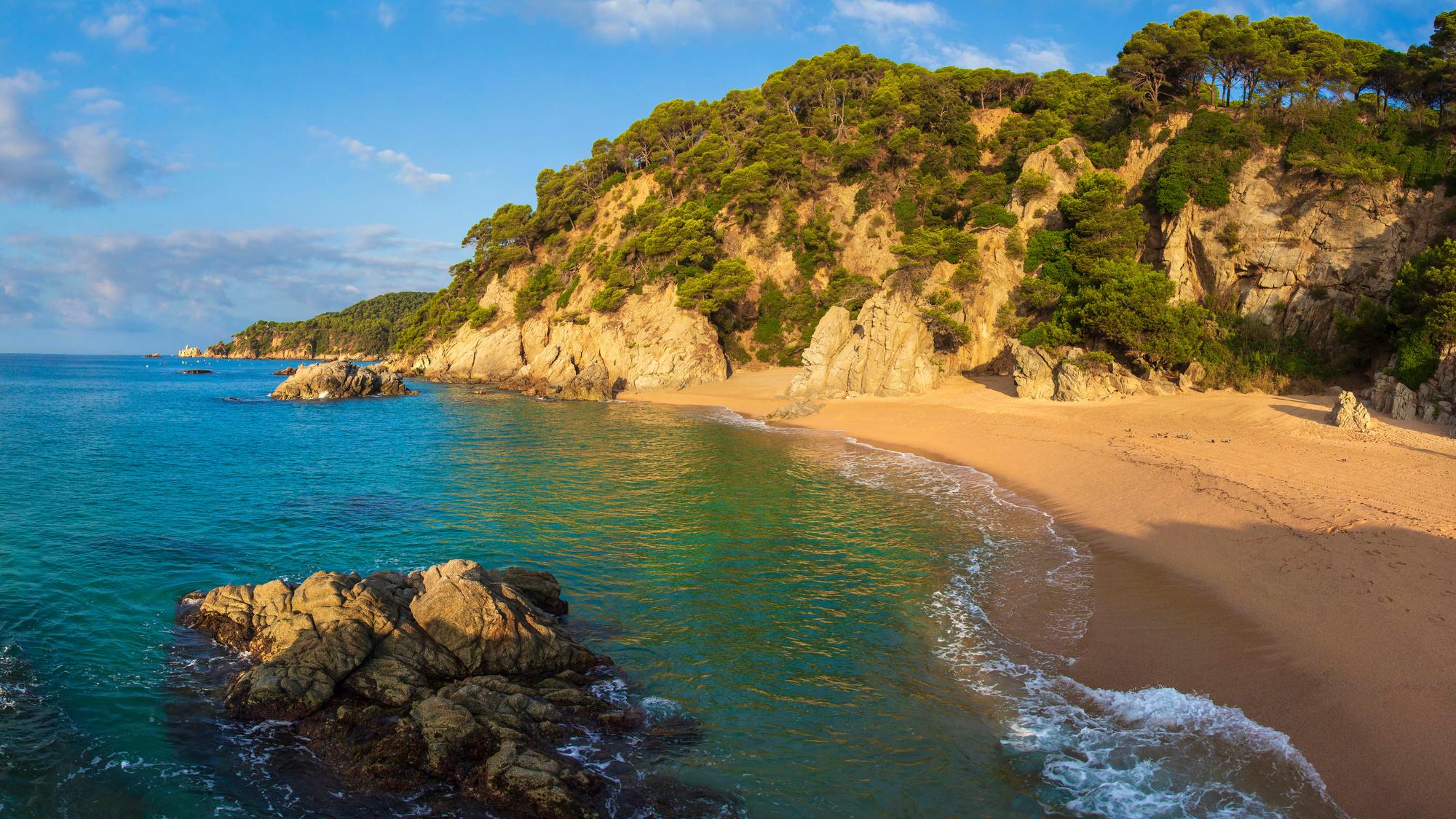Cala Sa Boadella, Lloret de Mar, en Espagne, Getty Images