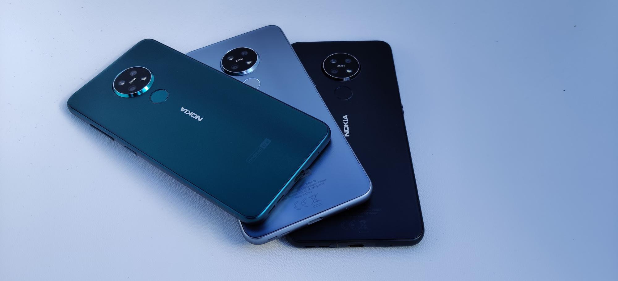 Nokia 7.2 et 6.2, PVL