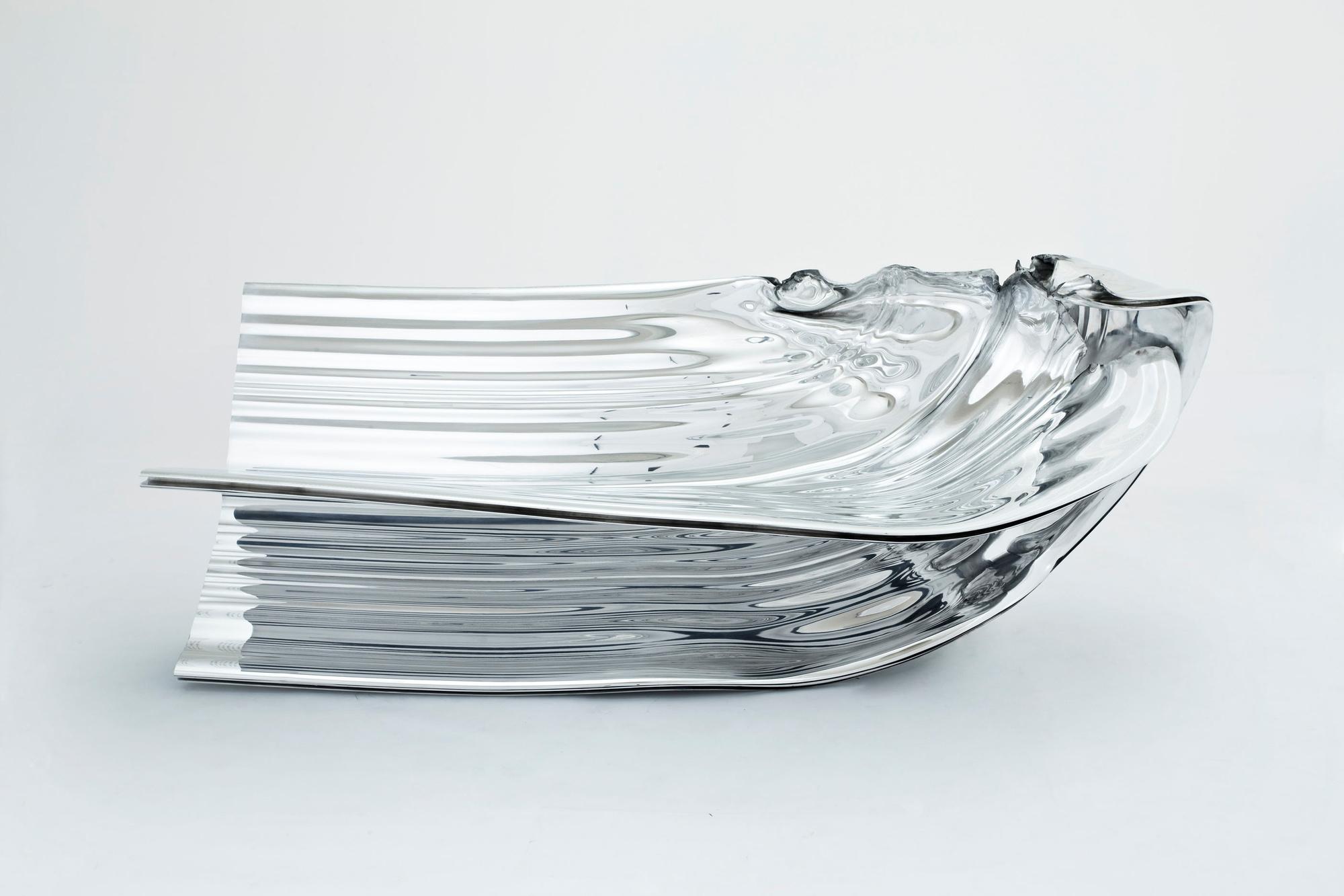 Thomas Heatherwick, Billet 1, Extrusion 1, 2009, Le mobilier d'architectes, 1960-2020, © Cité de l'architecture, Denys Vinson photographe 2019