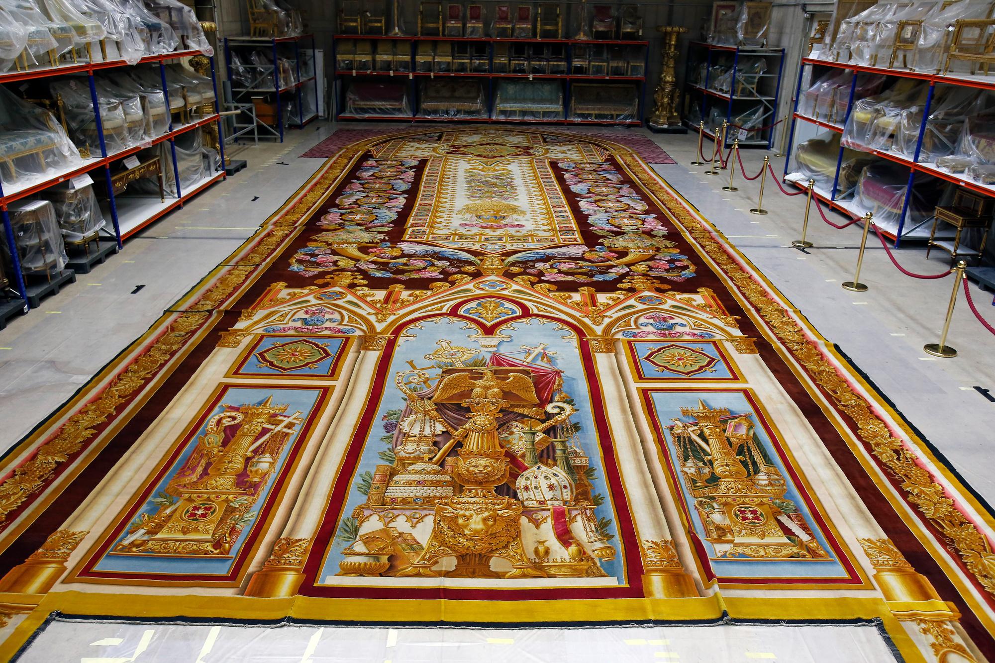 Tapis de Notre Dame, restauré après l'incendie, Getty Images