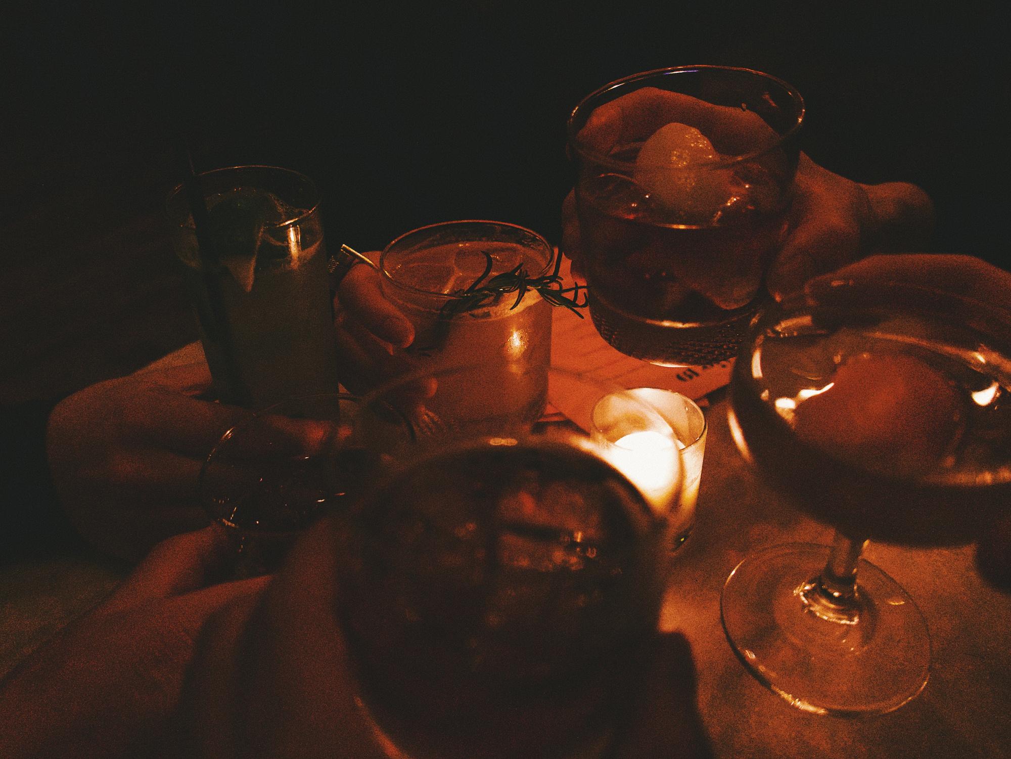 Cocktails bij Fig. 19, Spencer Samuels